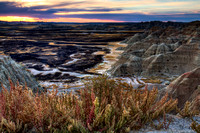 Badlands Sunset #1