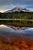 Mt. Rainer at Reflection Lake #1