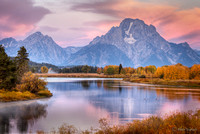 Oxbow Bend at Sunrise, Grand Tetons