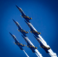 Navy Blue Angels FA-18 Hornet