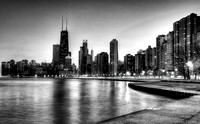 Chicago From North Ave Beach