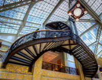 The Rookery Building Frank Lloyd Wright Staircase